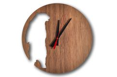 Bear wall clock 25cm