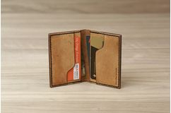 Card Wallet - Antique Tan
