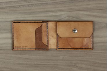 Classic Wallet with Coin Pouch - Antique Tan
