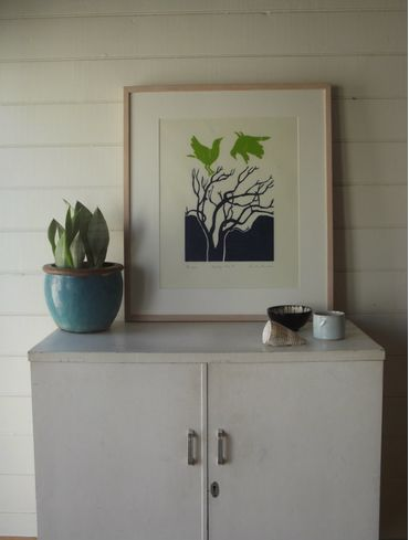 """""""Nesting Time 2 """" Relief Print"""